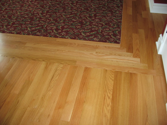Hardwood Floor With Carpet Inlay - Carpet Vidalondon
