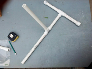 Base and Launch Sections Assembled