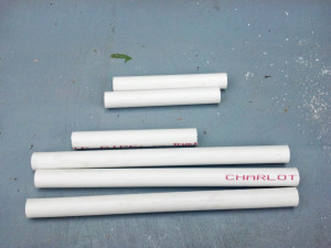 PVC Pipe Pieces